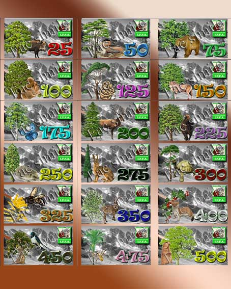 Stickers avanzamenti hunter iffa 25-500